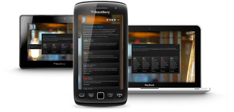 Responsive devices featuring smart phone